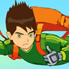 BEN 10 IN DANGER PARASHOOTER
