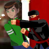 BEN 10 IN DANGER VS NINJA