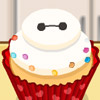 COOKING BAYMAX CUPCAKES
