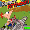 PHINEAS AND FERB ROBOT ATTACK GAME