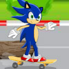 SONIC SKATING RUSH GAME